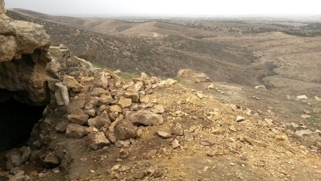 מצודת פחר - גבעות גורל - צילום: היחידה למניעת שוד ברשות העתיקות