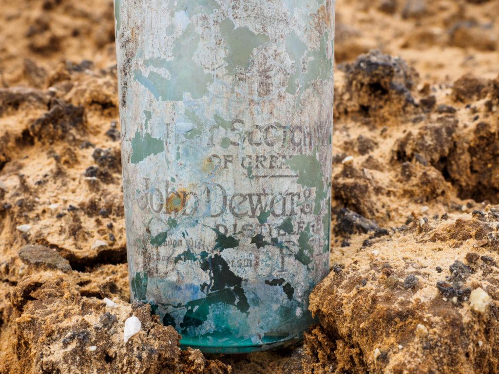 בקבוק ווסקי סקוטי עם התגית, צילום אסף פרץ