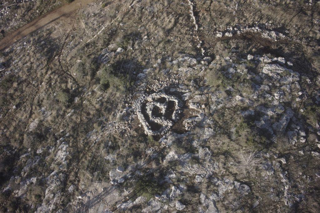 צילום אוויר של שטח החפירה - גריפין צילום אווירי