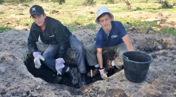 שרידי מתקני תעשיה עתיקים נחשפו בחורבת חוקוק