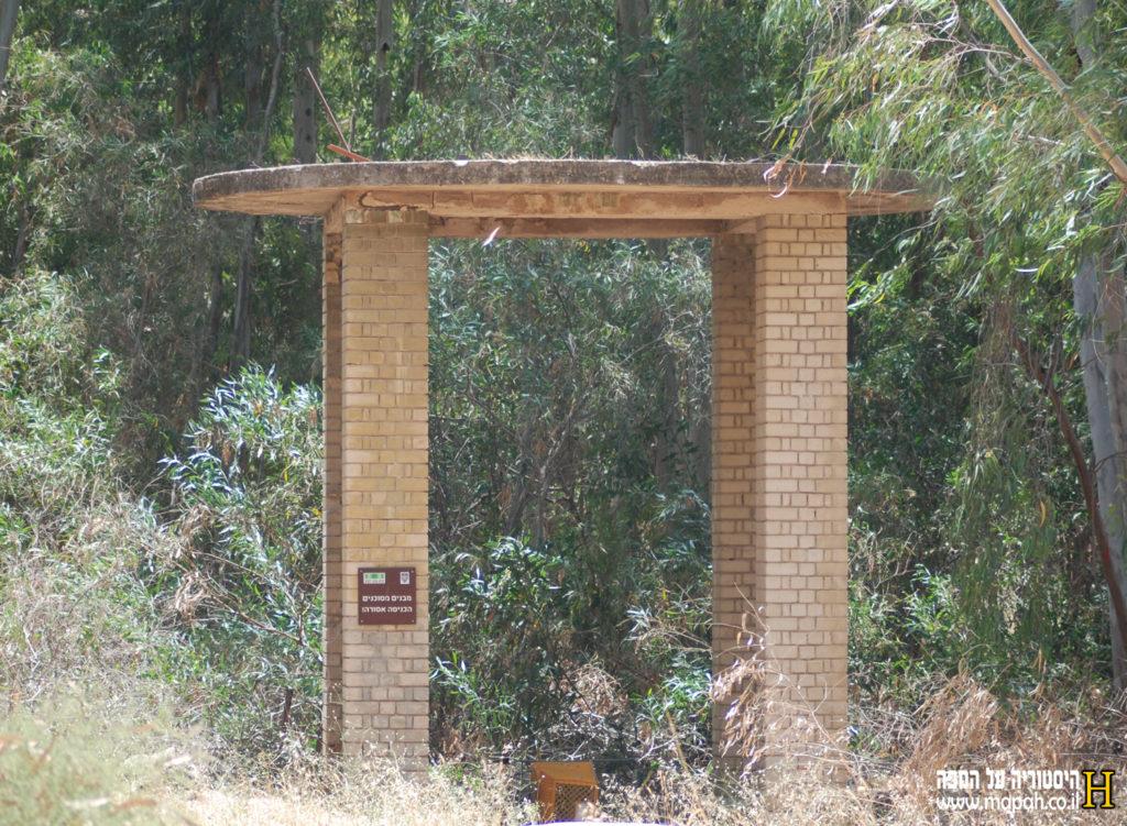 בסיס מאגר מים מתקופת המנדט ליד בסיס נבאללה - צילום: אפי אליאן