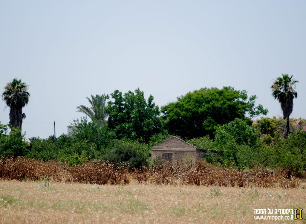 בית ישן בסמוך למגדל המים הבריטי ליד בסיס נבאללה - צילום: אפי אליאן