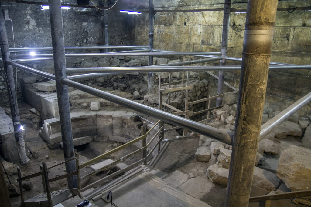 חפירת קשת וילסון – מבט כללי. צילום: יניב ברמן