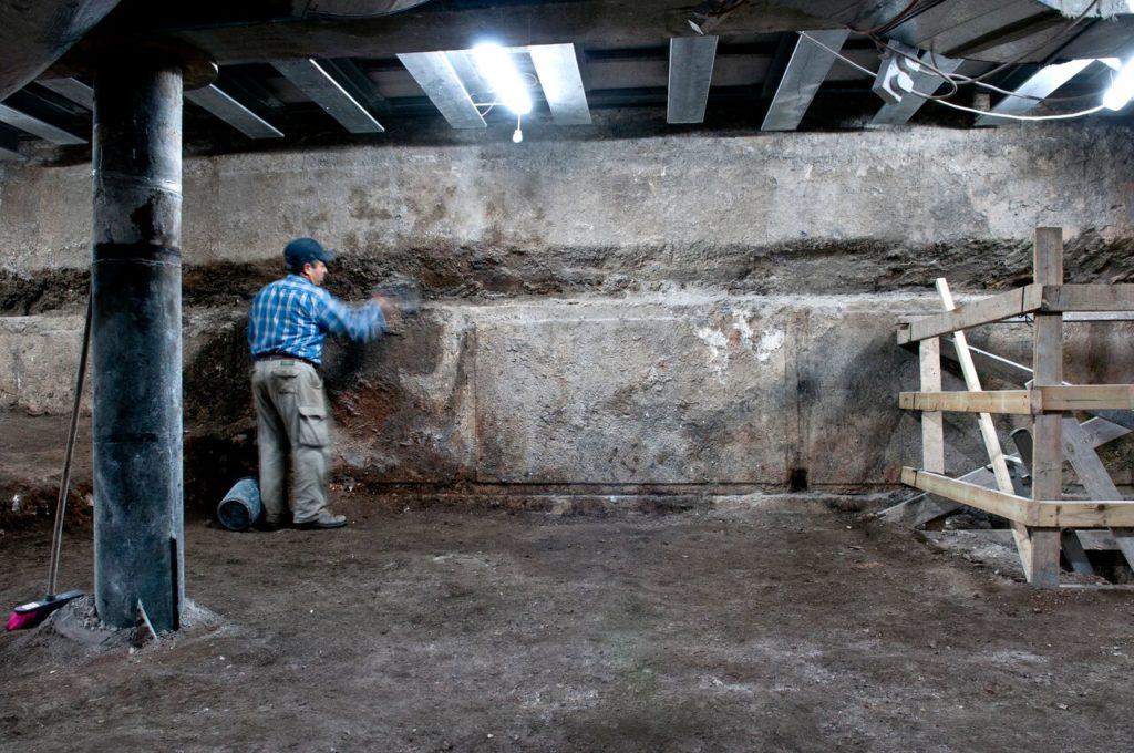 חפירת וילסון בשלביה הראשונים. צילומים: שי הלוי