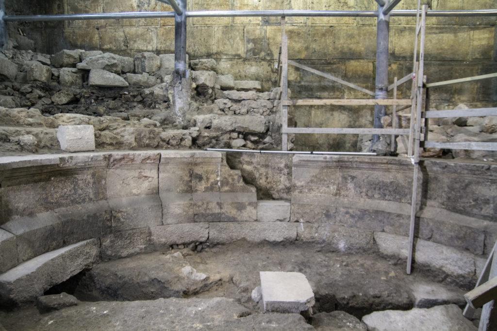 המבנה דמוי התיאטרון. צילום: יניב ברמן