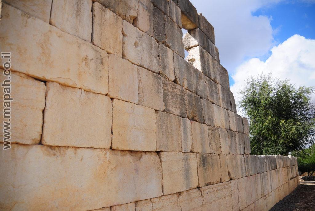 חזית ודופן ימנית של בית הכנסת הגדול ברעם - צילום: אפי אליאן